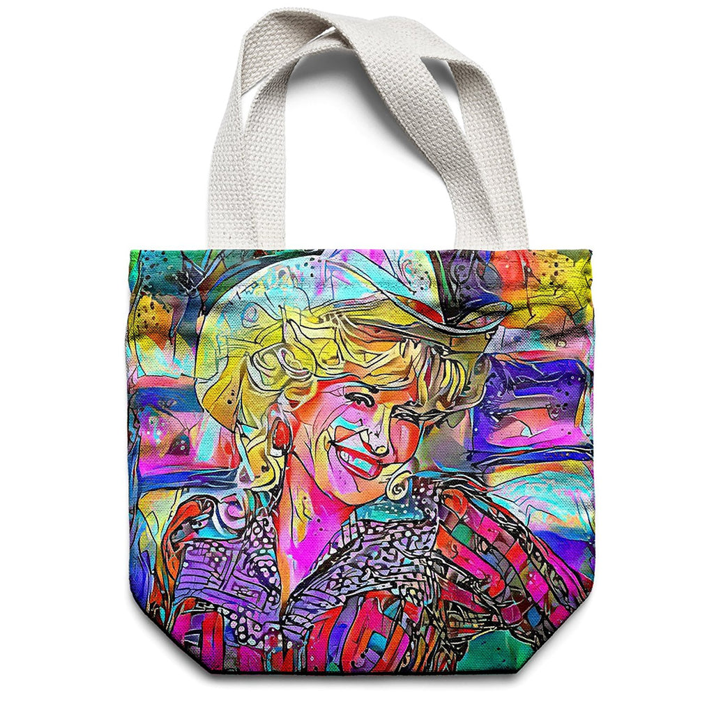 Westlake Art - Dolly Parton Singer Pop Art Tote Bag - Modern Abstract Artwork for Home Office Decoration