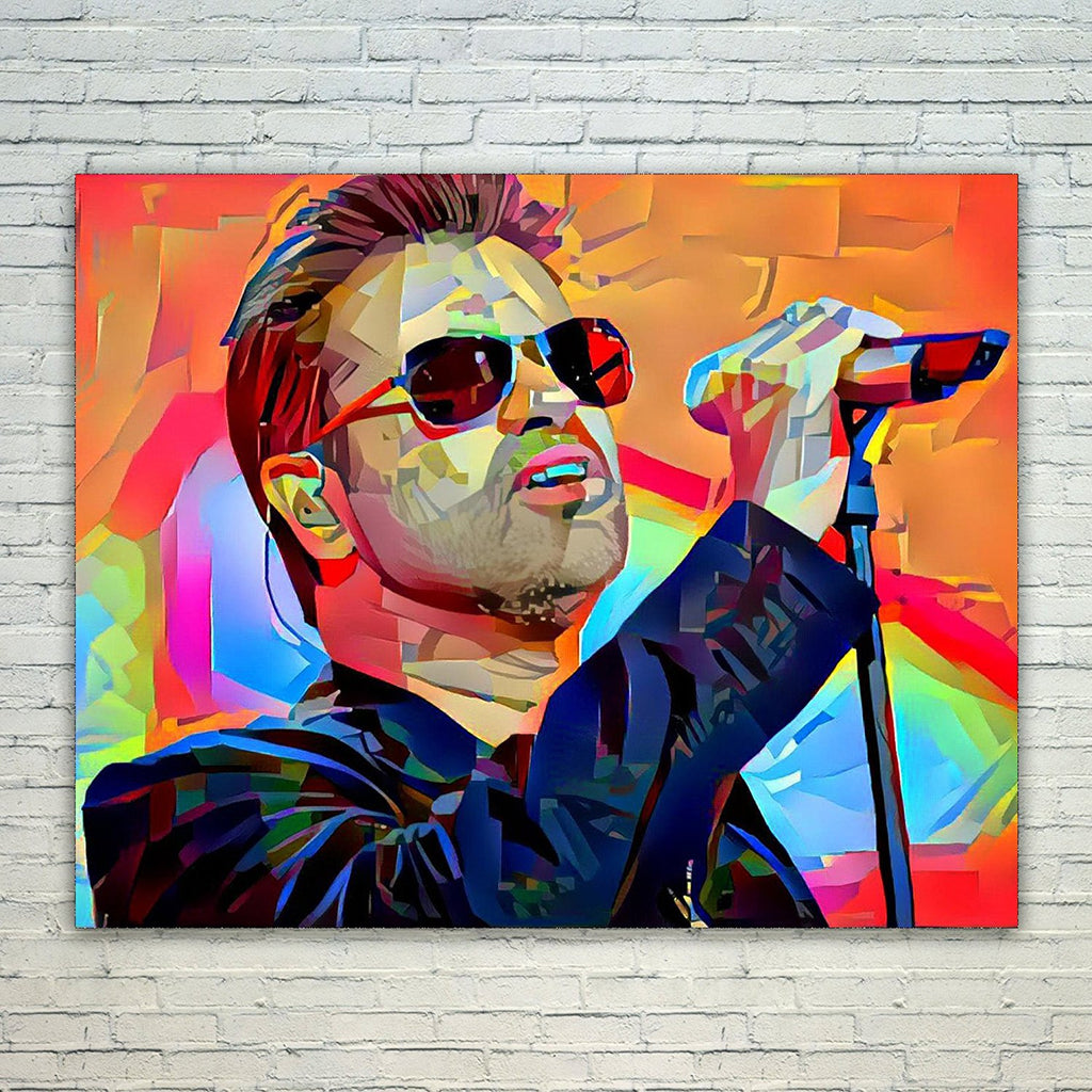 Westlake Art - George Michael Singer Pop Art 11x17in Modern Poster Prints Artwork Abstract Paintings Pictures Printed Wall Art for Home Office Decorations