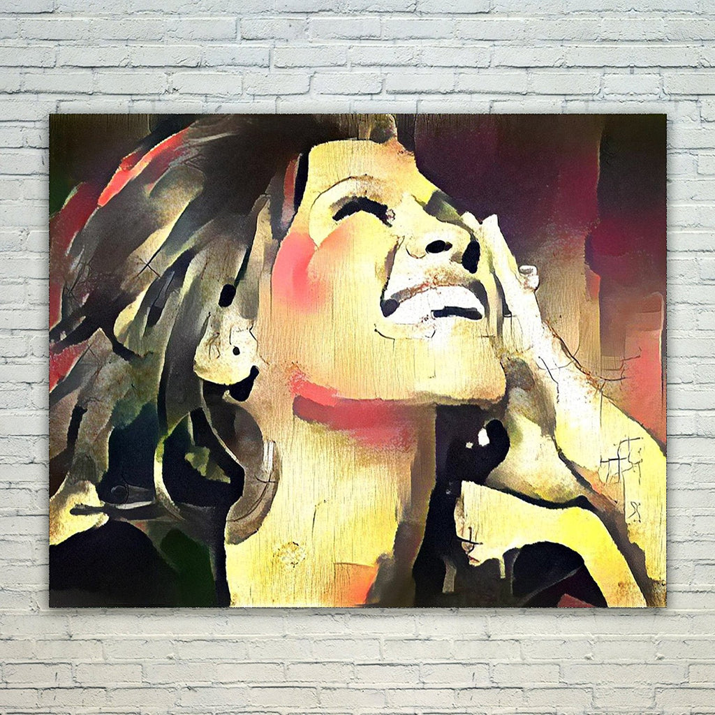 Westlake Art - Whitney Houston Music Artist Pop Art 11x17in Modern Poster Prints Artwork Abstract Paintings Pictures Printed Wall Art for Home Office Decorations