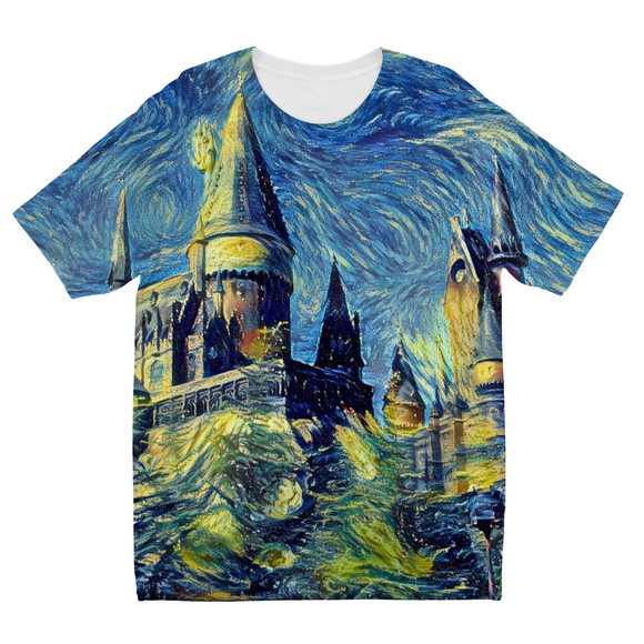 hp-castle-hill-1 Kids Sublimation TShirt