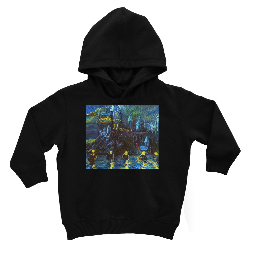 hp-castle-night-1 Kids Hoodie