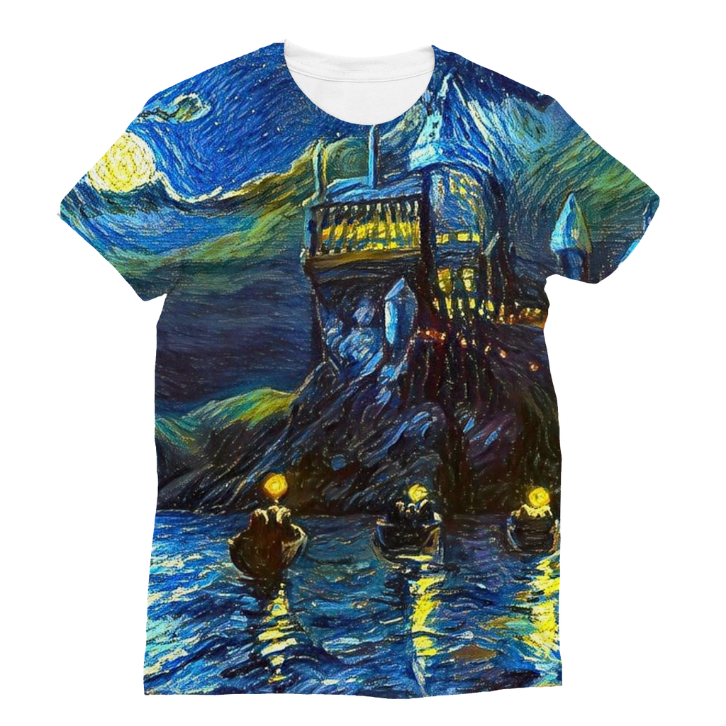 hp-castle-night-1 Sublimation T-Shirt
