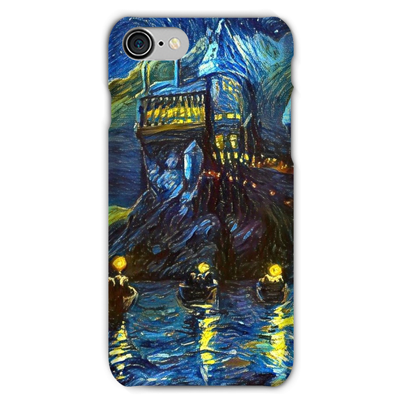 hp-castle-night-1 Phone Case