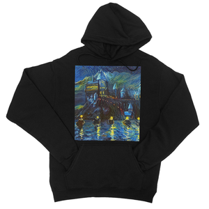 hp-castle-night-1 College Hoodie