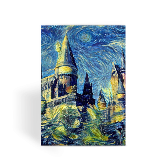 hp-castle-hill-1 Greeting Card