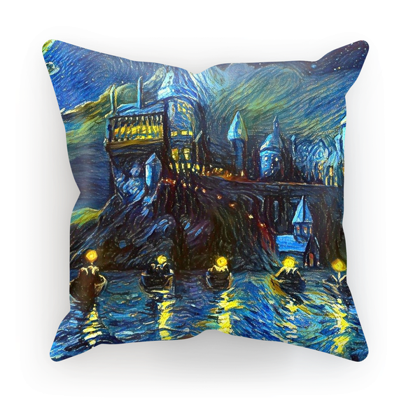 hp-castle-night-1 Cushion