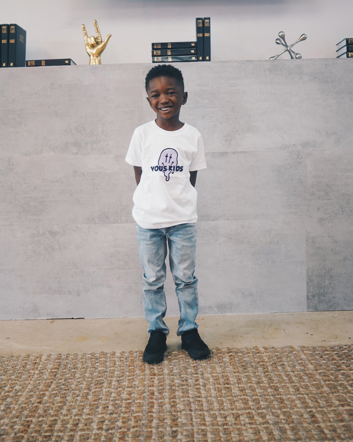 VOUS Kids White Drip T-Shirt (SZN2 2021)