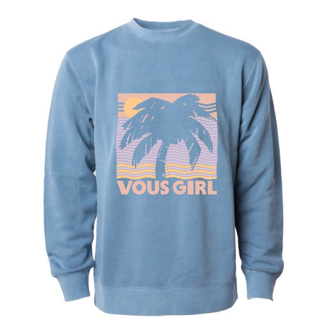Vous Girl Vintage Pigment Washed Sweatshirt (SZN2 - 2019)