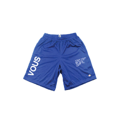 VOUS Mesh Shorts Royal (VC18)