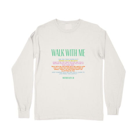 Vous Girl Walk With Me Long Sleeve Shirt