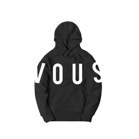 VOUS Type Pullover Hoodie