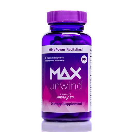 MAX UNWIND: Powerful Natural Sleep Aid & Stress Relief Formula
