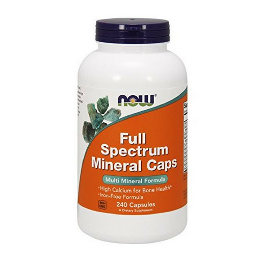 NOW Full Spectrum Mineral Caps, 240 Capsules