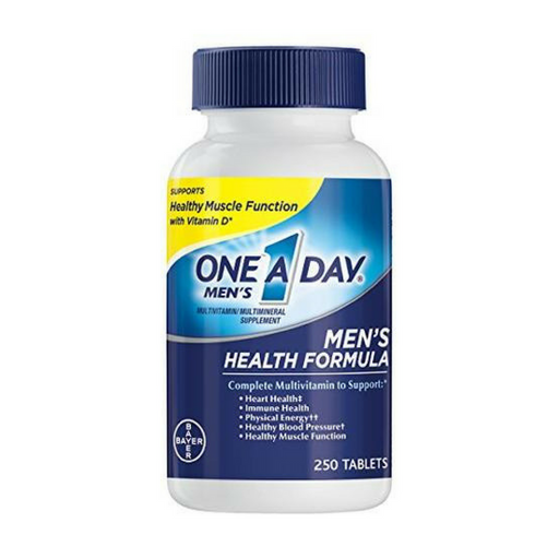 One A Day Men's Health Formula Multivitamin, 250 Count