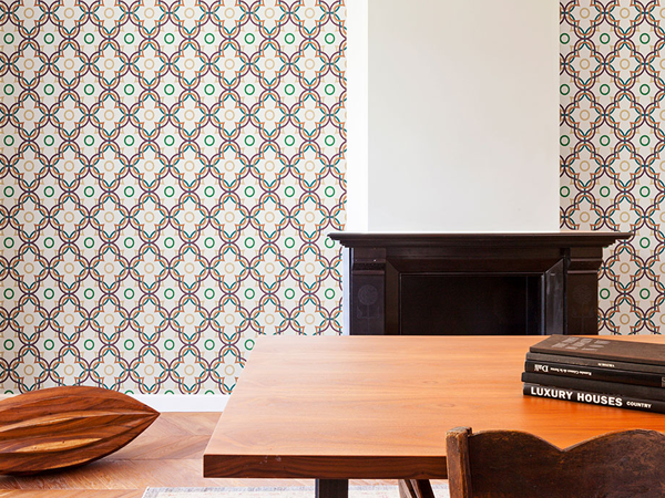 10 Contemporary Retro Wallpapers for a Striking Feature