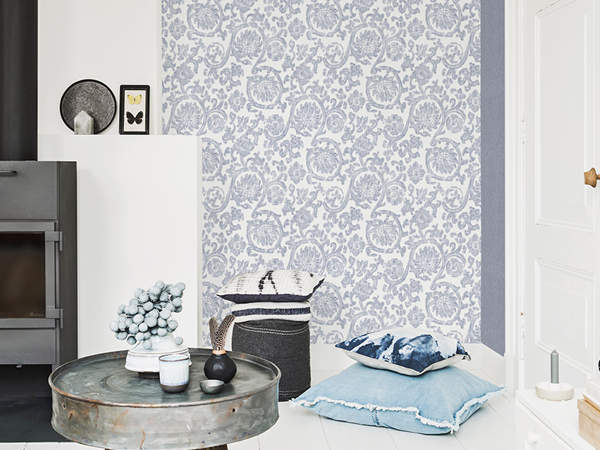 6 Stunning Powder Rooms with Wallpaper Profiled