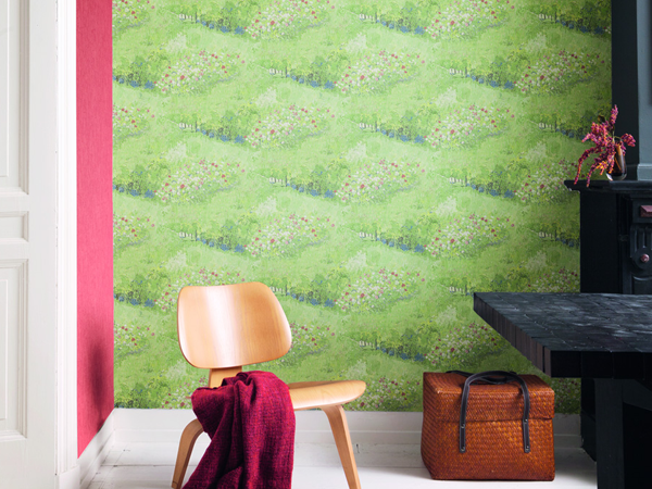 6 Ways to Go Green with Wallpaper for Your Living Room