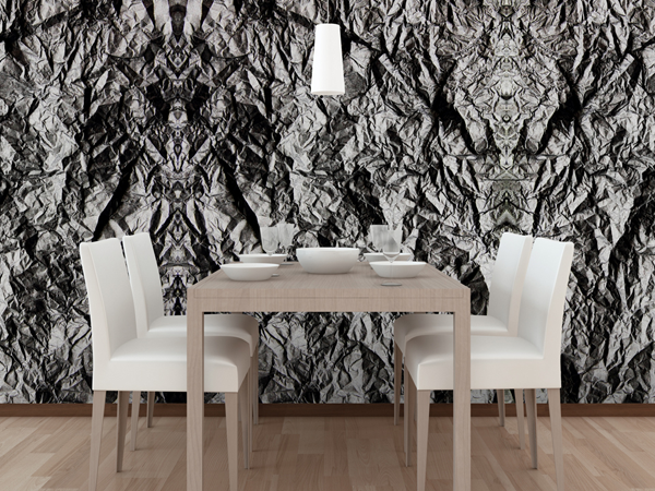 Abstract Wall Murals for a Bold Graphic Feature Wall