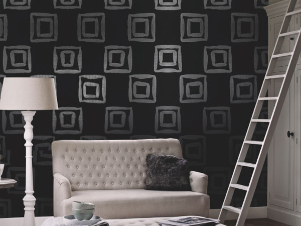 Black and White Geometric Wallpapers