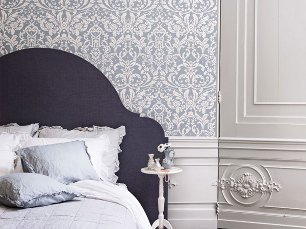 Contemporary Damask Wallpapers to Help You Unwind