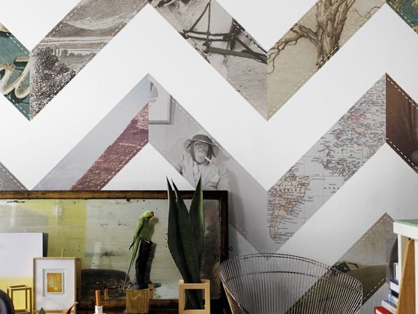 Geometric Wallpaper Murals for Your Living Room