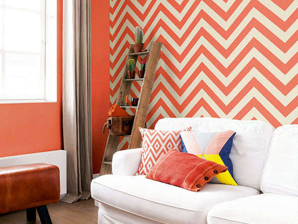 Stylish Striped Wallpaper For Small Rooms
