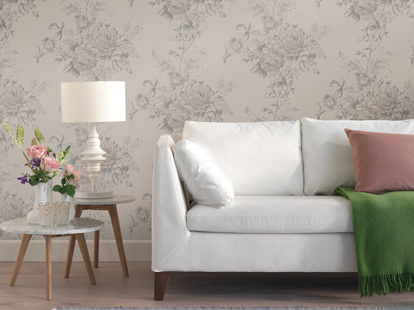 Neutral Colored Wallpaper for Any Space