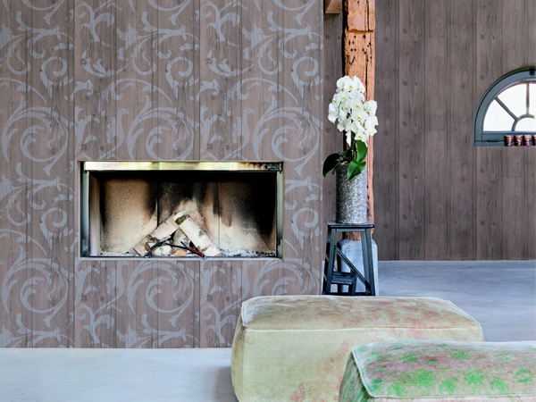 Fearless Designing with Damask Wallpaper