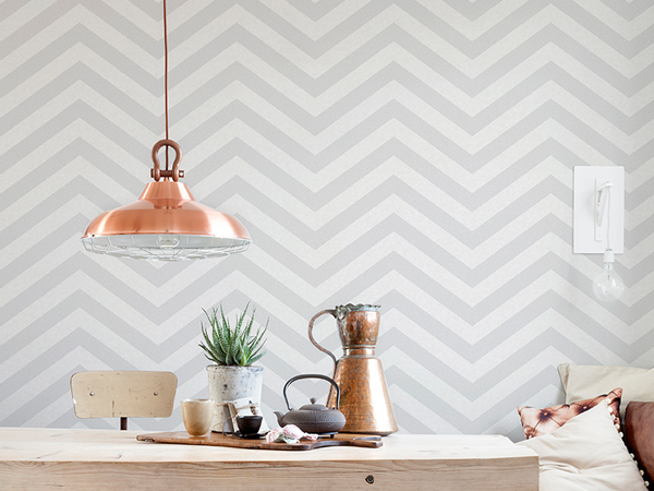 Geometric Wallpaper Inspiration to Create a Graphic Wow Factor in Your Home