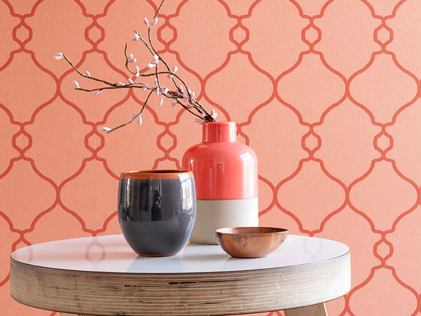 TOP 6: Geometric Home Office Wallpaper Styles