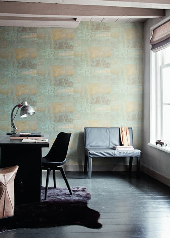 Home office wallpaper Mural Henge Cool Grey Home Office Wallpaper R1428 Ebay Tips For An Inspired Home Office With Wallpaper Walls Republic Us