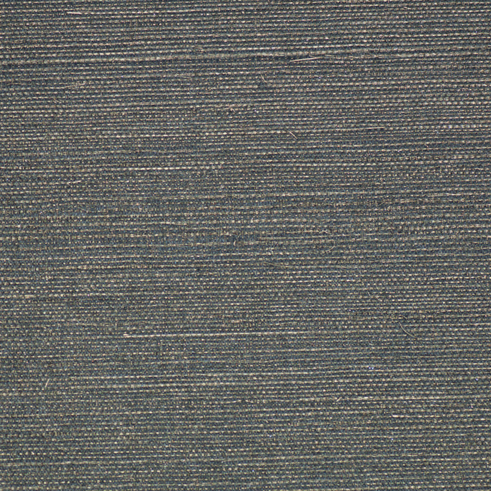 Dark Grey Metallic Grasscloth Wallpaper R2854. Grasscloth wallpaper.