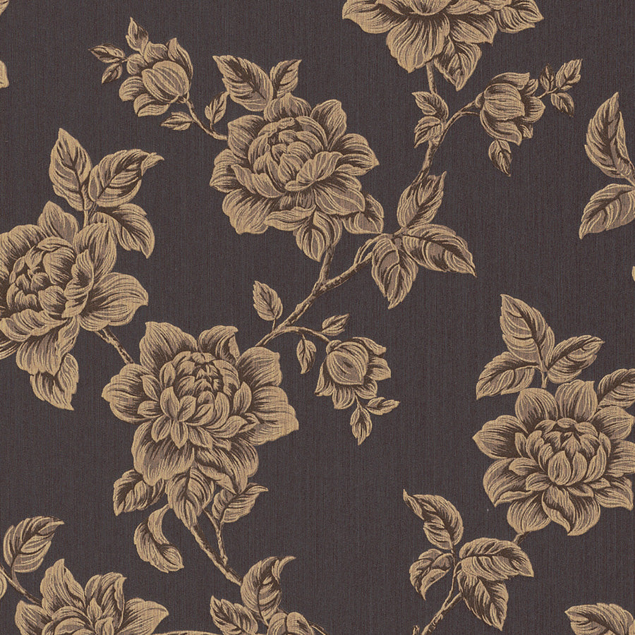 dark floral wallpaper