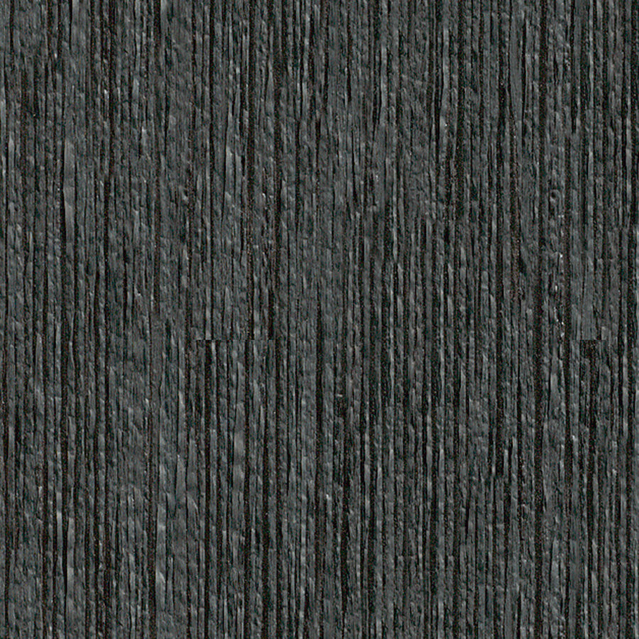 Black Paper Yarn Textured Wallpaper R3247