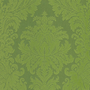 Green Damask Wallpaper R4150 | Traditional Home Wall Covering