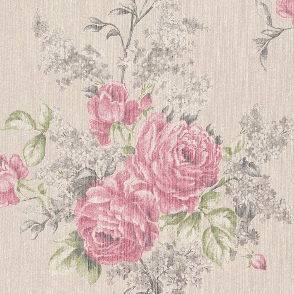Bold Floral Wallpaper Walls Republic Us