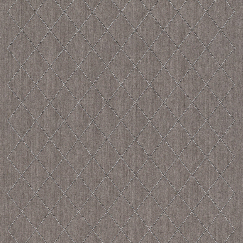 Dark Gray Diamond Textile Wallpaper R3156 | Elegant Home Wallcovering