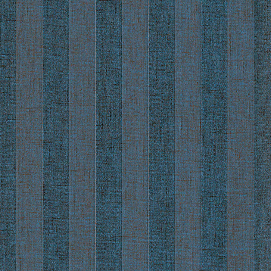 Black Striped Linen Wallpaper R3175 | Elegant Home Interior