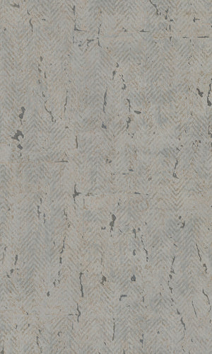 herringbone cork commercial wallpaper