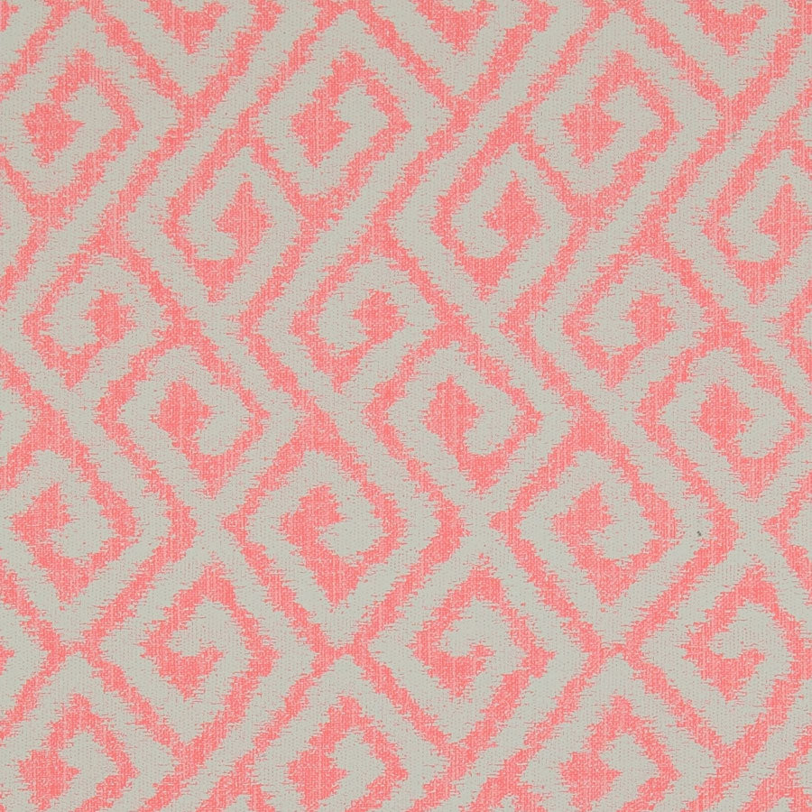 Red Coral Bohemian Wallpaper R3299 | Geometric Home Wallcovering