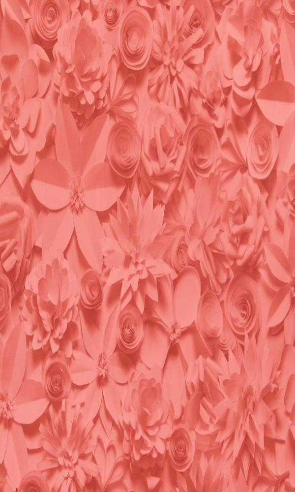 bold floral wallpaper, Crimson 3D Bold Floral Wallpaper R2912 | Modern Home Interior