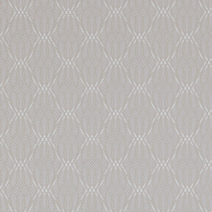 Grey Laced Geometry Textured  Wallpaper  R2915