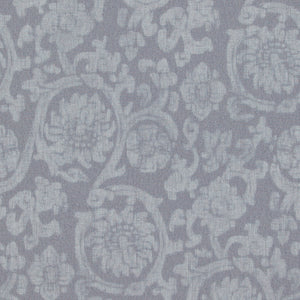 Traditional Orbital Damask Light Wash Blue Wallpaper R4081