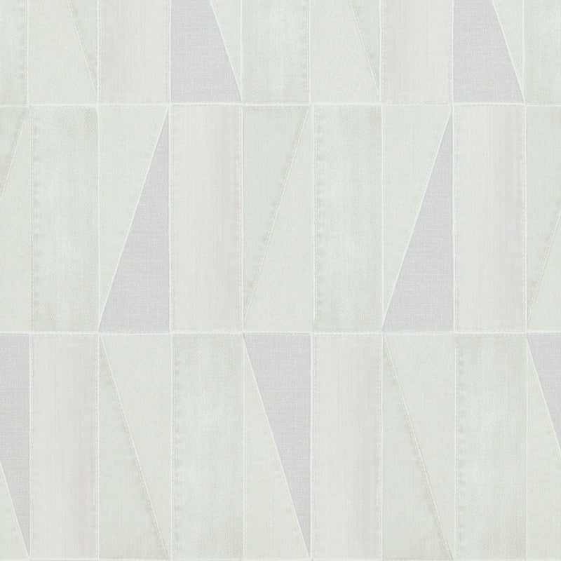 Urban Denim Patch Light Pink and Beige Wallpaper R4095