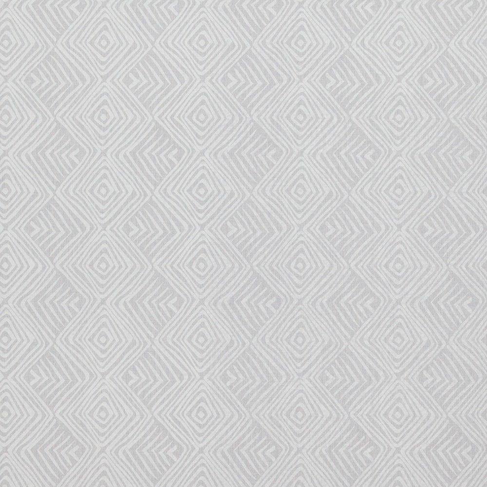 Geometric Tribal Print Grey And White Wallpaper R4205