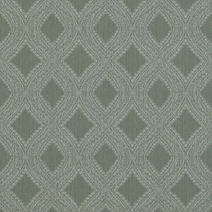 Transitional Geometric Diamond Weave Forest Green Wallpaper R4119