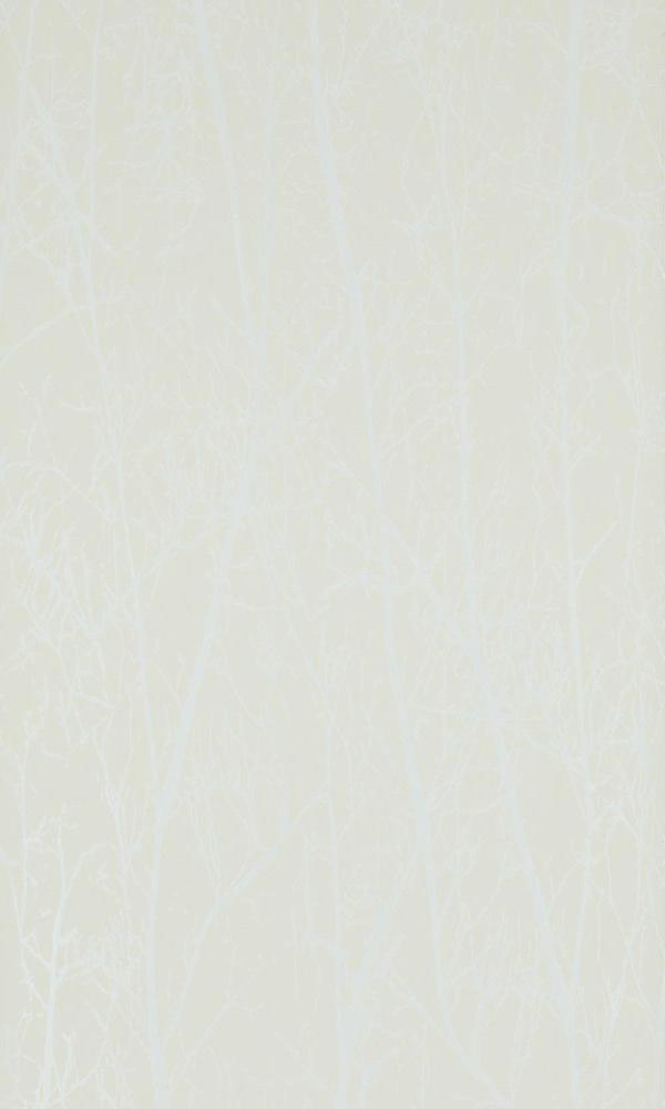 Contemporary Winter Trees Beige And Pearl Wallpaper R4098