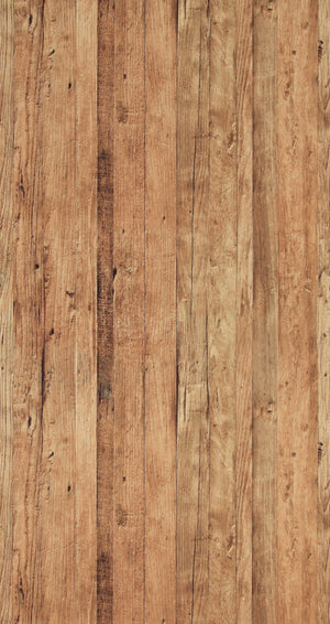 Faux Driftwood Brown Rustica Wallpaper R4330