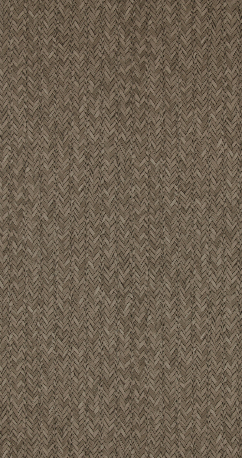 Raw Chevron Charcoal Braid Wallpaper R4313
