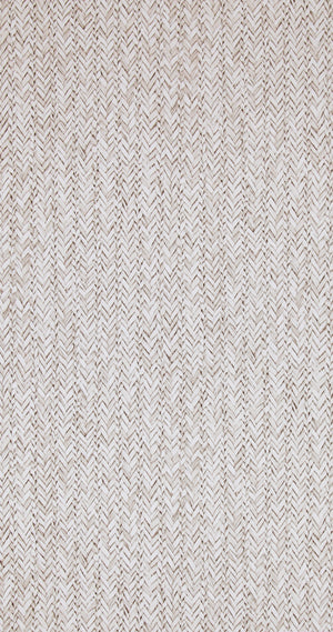 Raw Chevron Ash Braid Wallpaper R4314